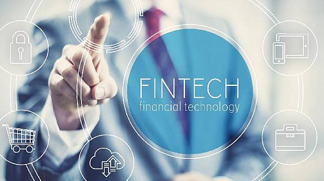 Fintech illustration. Shutterstock