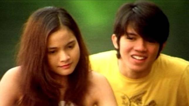 Acha Septriasa dan Irwansyah ketika di film Heart. (via milimeter.blogspot.com)