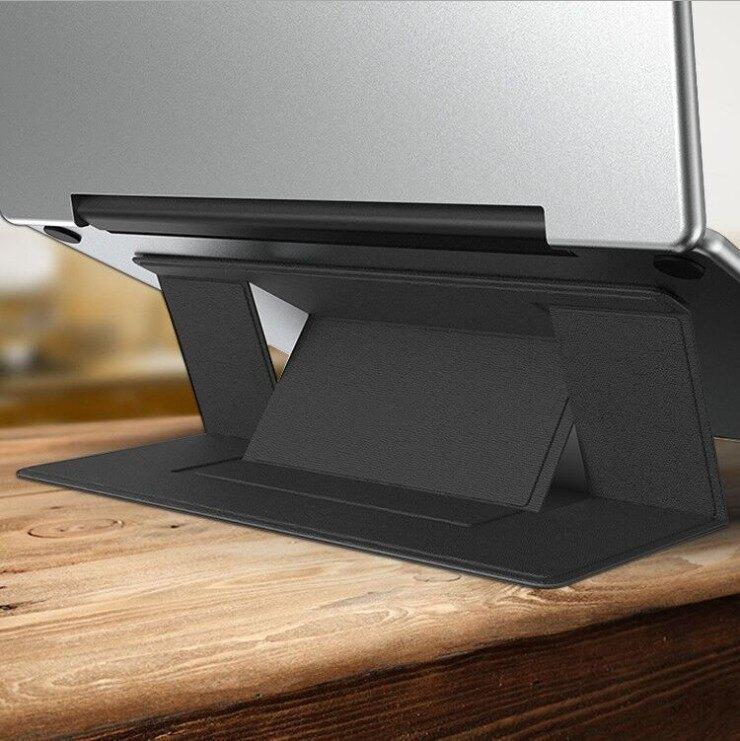 便攜筆電架 隱形超薄筆電支架 折疊筆記型電腦支架 兩檔高度調節 便攜平板電腦支架 一體式筆電支架 【Z90438】
