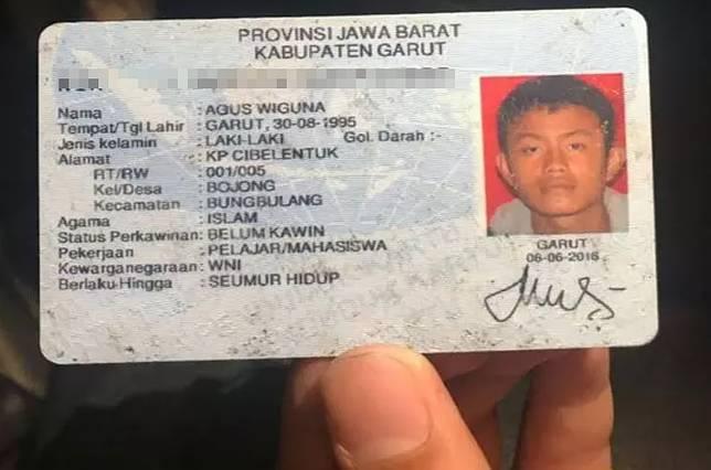 Ini sosok Agus Wiguna, pemuda kelahiran 30 Agustus 1995, warga Kampung Cibelentuk yang kedapatan merakit bom panci.