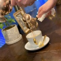 カフェラテ - 実際訪問したユーザーが直接撮影して投稿した新宿カフェ珈琲貴族エジンバラの写真のメニュー情報