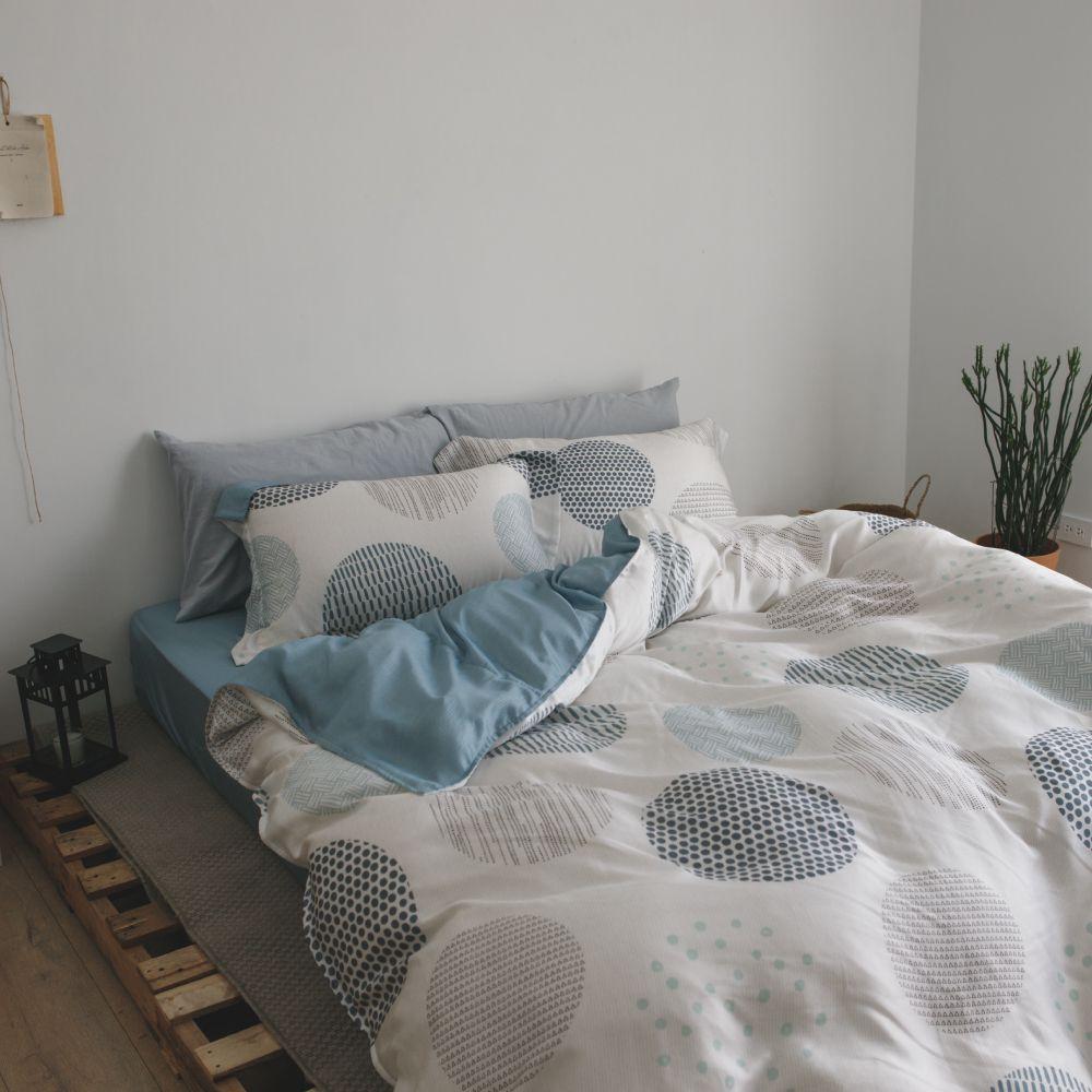 【預購】床包被套組(鋪棉兩用被套)-雙人 / 100% TENCEL天絲™萊賽爾纖維 /小步舞曲