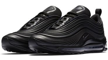 新聞分享 / 立體感鞋面紋理 Nike Air Max 97 Ultra 全黑新款曝光
