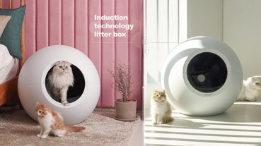 自動換貓砂超方便!美國「感應式科技貓砂盆」Circle Zero 10月上市,訂單已突破千萬!