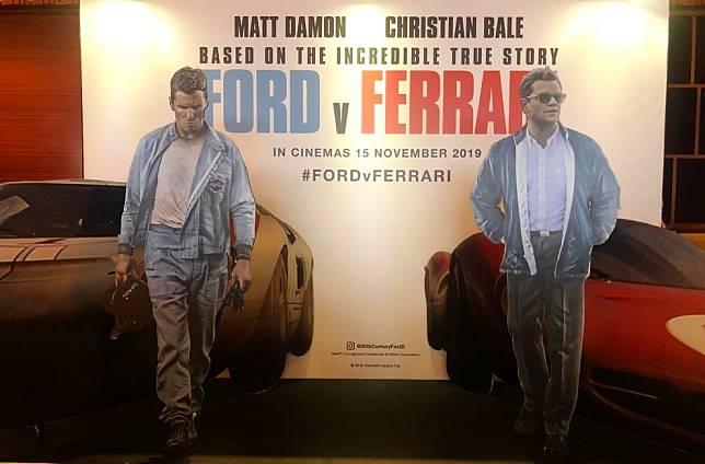 Ford v Ferrari tayang serentak di bioskop Indonesia tanggal 15 November 2019