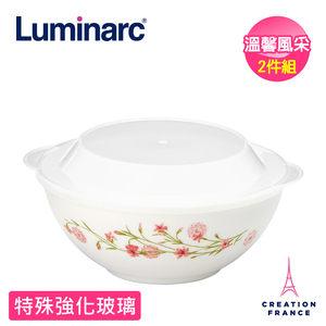 耐熱玻璃製成,輕巧堅固,耐高溫300℃,耐瞬溫130℃,適用於微波爐、烤箱、洗碗機。