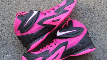 """新聞速報 / Nike Zoom Soldier 8 """"Think Pink"""""""