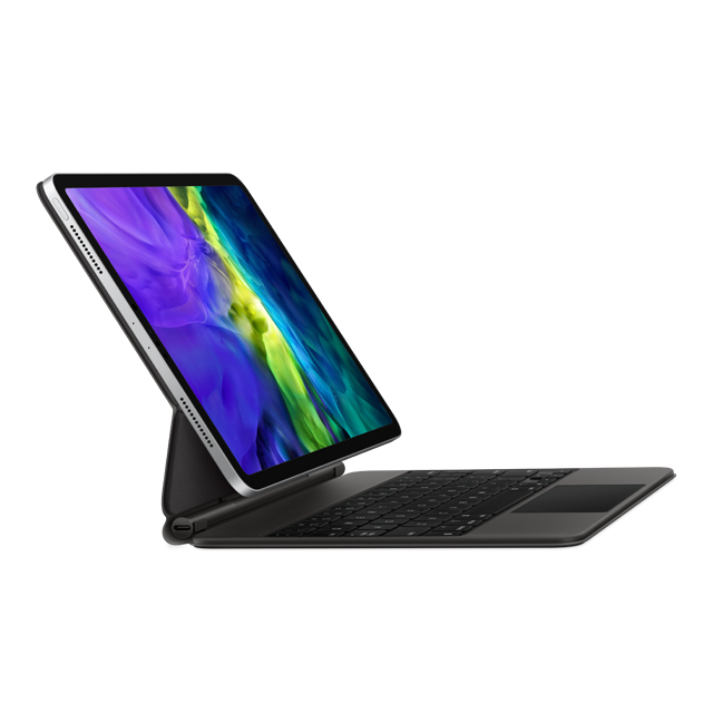 特色重點全尺寸、背光按鍵和 1 公釐鍵程的剪刀式結構,帶來安靜無聲又靈敏的打字體驗。專為 iPadOS 中的多點觸控手勢及游標而設計。順暢調整角度,提供你最適合觀看的視角。USB-C 埠可用於為 iP