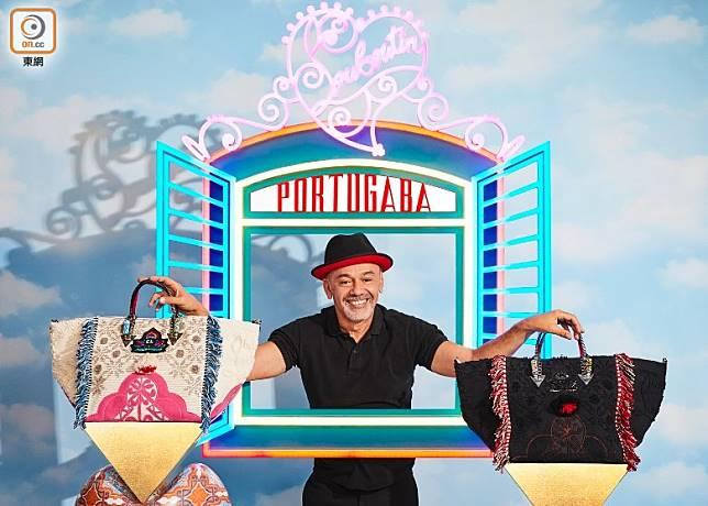 Mr. Louboutin每季都會從世界各地尋找不同頂級工藝融入系列,而PORTUGABA系列就正是從葡萄牙之旅攝取靈感。(互聯網)