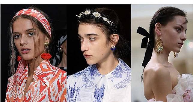 戴髮箍才不會像村姑哩!今年春夏頭上就是要有這些髮飾裝點才時髦!