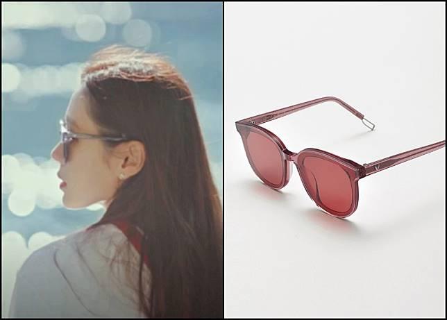 除了GENTLE MONSTER「HER」型號外,孫藝珍於劇中亦有戴上另一型號「MA MARS」太陽眼鏡。(互聯網)
