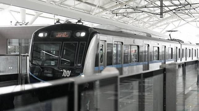 Rasanya naik MRT Jakarta (Suara.com/ Adit Rianto)