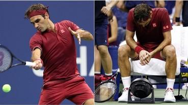 發生高達 76 次失誤!「網球天王」Roger Federer 美網爆冷吞敗 無緣晉級男單 8 強!
