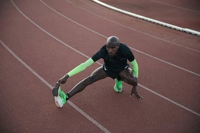 Mo Farah最鍾意是鞋帶眼的重新設計,減輕腳背敏感部位的壓力。(互聯網)