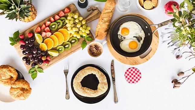 【國健署-我的餐盤均衡飲食菜單】外食這樣吃也能很均衡:早餐篇