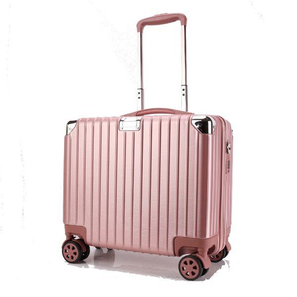 618大促 迷妳登機箱16寸行李箱拉桿箱旅行商務