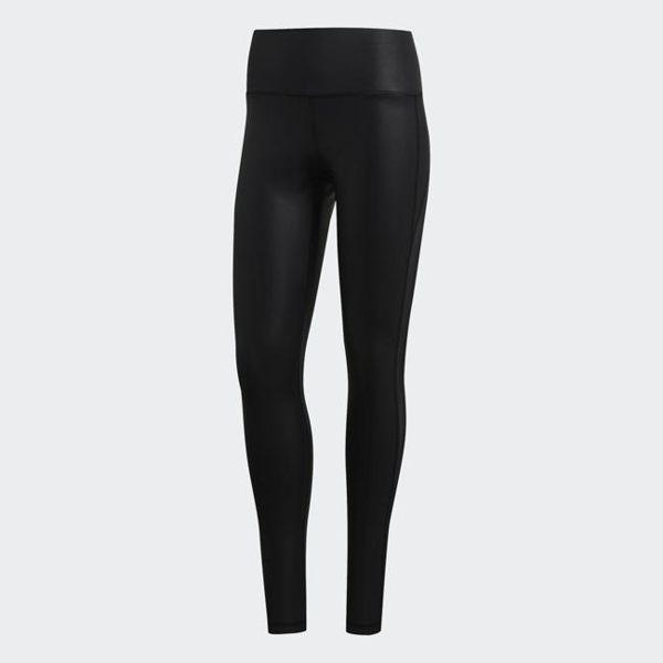ADIDAS BELIEVE THIS TIGHTS 女裝 長褲 緊身 訓練 透膚 透氣 黑【運動世界】D96050