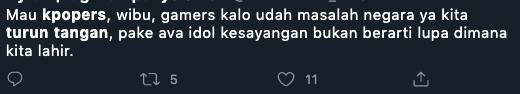 Tolak Omnibus Law Fans K Pop Indonesia Turut Trendingkan Tagar Mositidakpercaya Trending Now Line Today