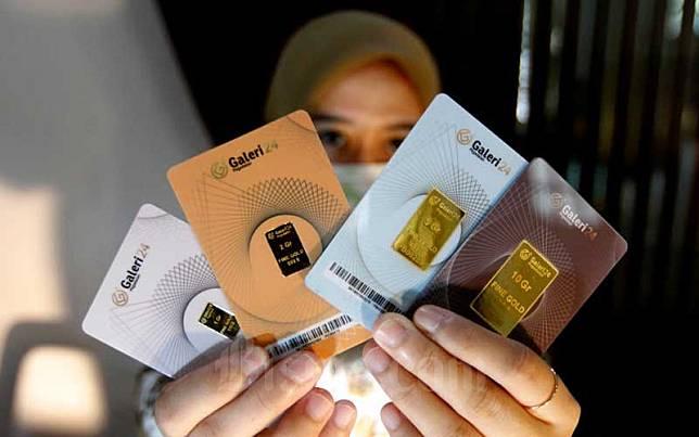 Harga Emas Batangan 24 Karat Di Pegadaian Hari Ini 15 Juli 2020 Bisnis Com Line Today