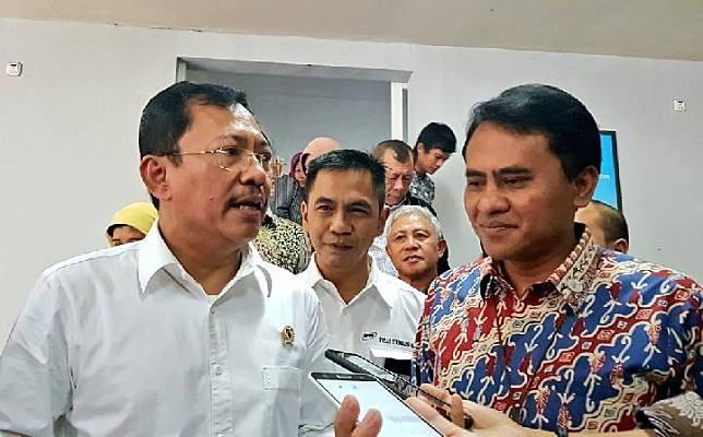 Menteri Kesehatan Terawan Agus Putranto menilai Implan traumatik inovasi BPPT berkualitas tinggi. Kredit: BPPT