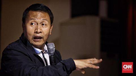 Ketua DPP PKS Mardani Ali Sera mendesak KPK buka-bukaan status 75 pegawai KPK gagal tes ASN. (Foto: SIAPGRAK.COM Indonesia/Hesti Rika)