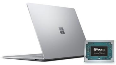 AMD Ryzen 行動處理器打入 Microsoft Surface 3 15 吋筆電,更有特規版 Radeon RX Vega 11