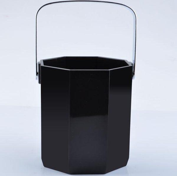 香檳桶 八角冰桶家用塑料香檳桶酒店酒吧實用工具酒吧冰桶 喵可可
