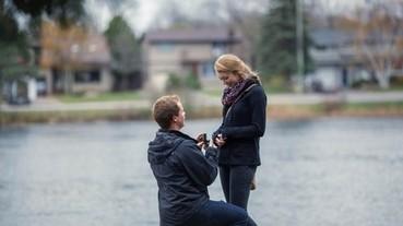 男友請攝影師側拍求婚 但…人去哪了呢?
