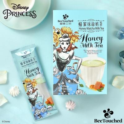 蜜蜂工坊 迪士尼公主系列蜂蜜抹綠奶茶(24gx10包)