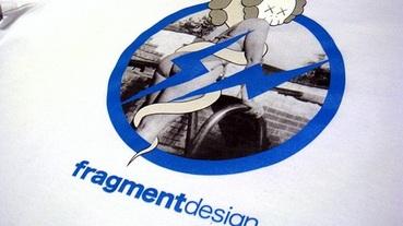 """fragment design x OriginalFake """"Girl Bending"""" T-Shirt 裸女再現"""