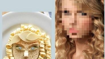 明星臉食物上桌!這位捲髮美女到底是誰?