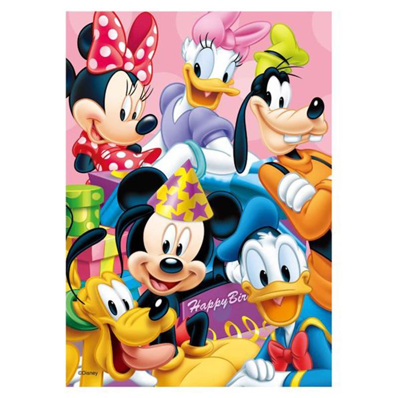 Mickey Mouse&Friends生日驚喜拼圖108片品牌:百耘圖公司:百耘圖實業 Hundred Pictures Company尺寸:拼圖257*182mm 彩盒:135*135*45mm製