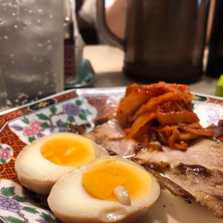 ユーザーが投稿した単おつまみ3点盛りの写真 - 実際訪問したユーザーが直接撮影して投稿した歌舞伎町ラーメン・つけ麺中華食堂 一番館 新宿歌舞伎町店の写真