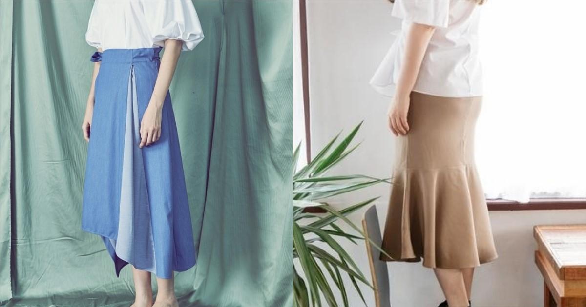兼具涼爽氛圍與女人味印象!裙裝除了從長度挑選這 4 版型更是必備款