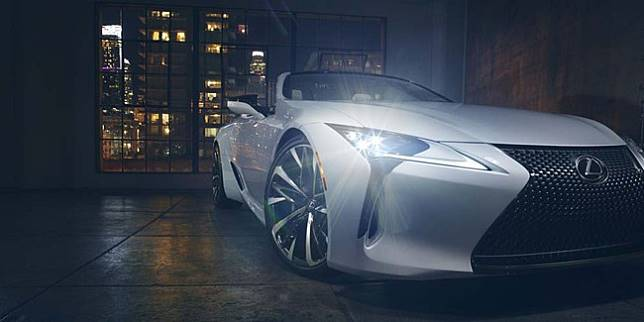 Lexus LC concept (Autoevolution)