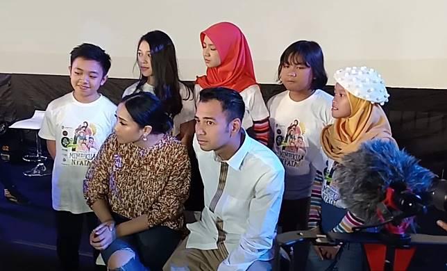 Gelisah Rafathar Sering Nonton Musik Barat, Raffi Ahmad Gelar Mini Konser Anak