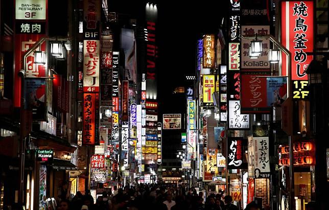 Nightlife district of Kabukicho, Tokyo, Japan, on October 23, 2019.