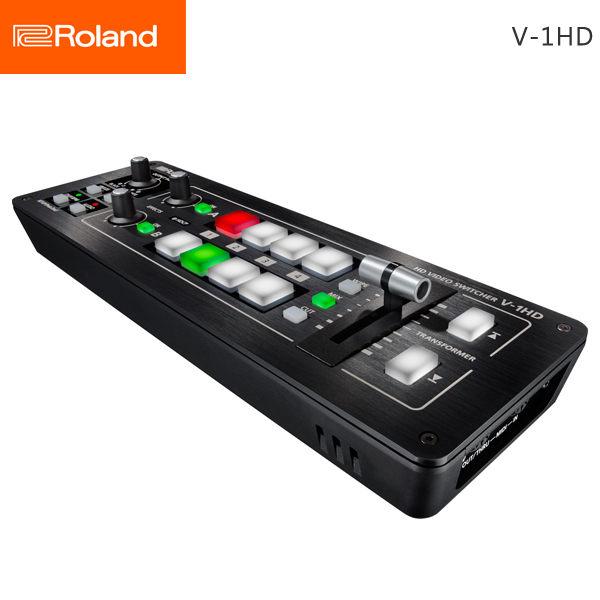 如此緊湊與便攜的切換台,您可以帶著V-1HD在任何場合使用!V-1HD使連接設備變得便捷,攝像‧‧‧