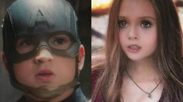 網友幫《復仇者聯盟 4》成員用上 Snapchat「寶寶濾鏡」 哪位超級英雄變得最勾錐呢?