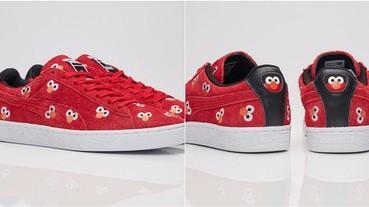 今季最 Cute 的波鞋:Puma 聯乘芝麻街, Elmo 與 Cookie Monster 齊出動!