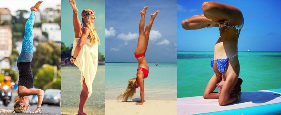 全球女孩瘋瑜珈,全世界都是我的瑜珈教室