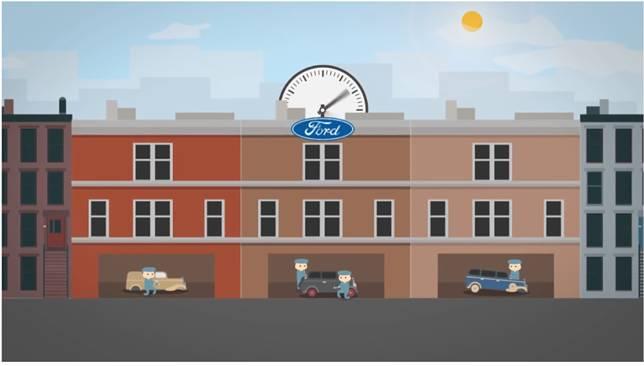 Akibat waktu yang lebih pendek tersebut, pekerja perusahaan mobil Ford merasa lebih fleksibel dan justru lebih produktif dalam bekerja. Akibatnya dalam beberapa tahun, perusahaan Ford mendapat untung yang sangat besar, sehingga akhirnya waktu kerja 8 jam tersebut ditiru oleh banyak perusahaan lain.
