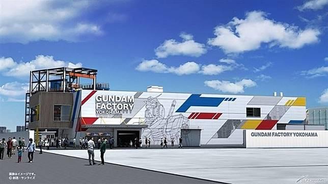 Gundam-Lab除了有各款限定版高達模型及商品外,還將有高達主題Cafe進駐。(互聯網)