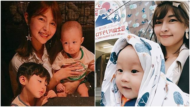 女星「黎兒」林舒語育有2子。圖/翻攝自林舒語臉書