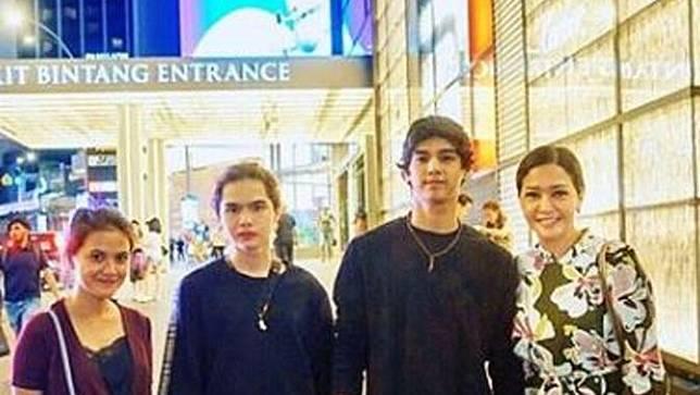 Maia Estianty unggah foto bersama Al Ghazali, Dul Jaelani, dan Marsha Aruan (Instagram/@maiaestiantyreal)