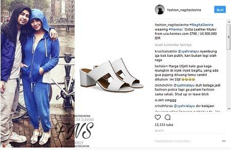 Koleksi Sandal dan Sepatu Milik Nagita Slavina yang Harganya Bikin ... 2dad0dcd91