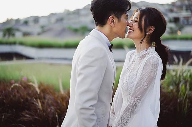 之前在紐西蘭秘婚,現在再補辦婚禮。