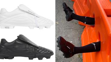 老爹鞋始祖再推話題鞋款!Balenciaga「足球鞋」秋冬絕對大賣,穿去踢足球太浪費啦!