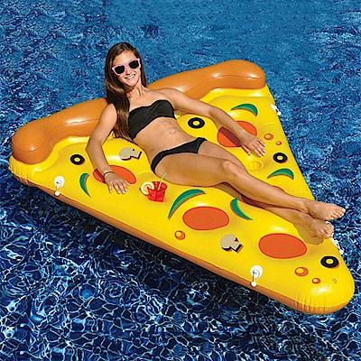 夏天玩水必備! 超吸睛造型浮床同時享受漂浮+日光浴的樂趣party活動必備可組合式充氣披薩