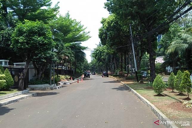 Kompleks rumah dinas menteri lengang menjelang pelantikan presiden